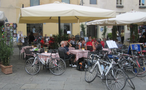 Hygge i Lucca